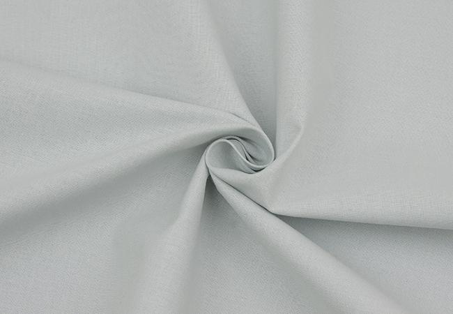 premium valinta tehtaanmyymälä noukkia Puuvillane kangas, helehall - Kangadzungel
