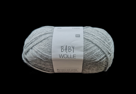 Lõng Baby Wolle, hall, 50g