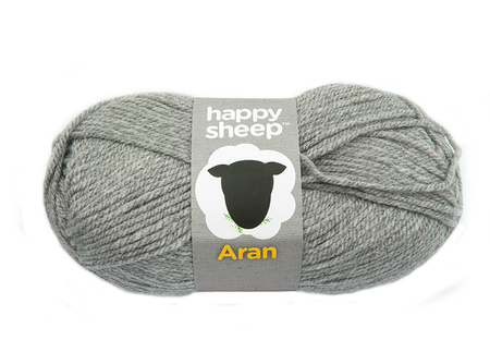 Lõng Happy Sheep, hall, 100g