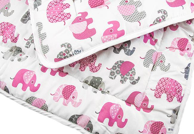 87a4dd62895 Beebi lamamistekk, roosade elevantidega Öko-Tex Standard 100 ...