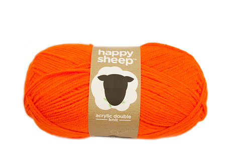 Lõng Happy Sheep, oranž, 100g